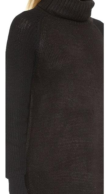 9dc40211d LINE John   Jen Oversized Funnel Neck Sweater