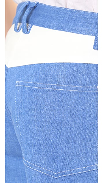 Line II Dion Lee Denim Shorts