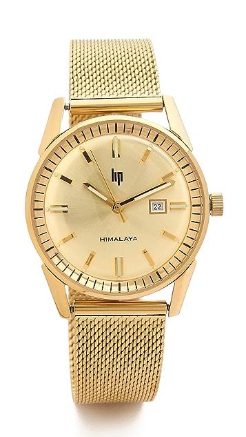 LIP Watches Himalaya 1960 Date Milanese Watch