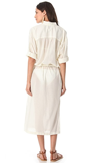 Lisa Marie Fernandez The Cover Up Shirtdress