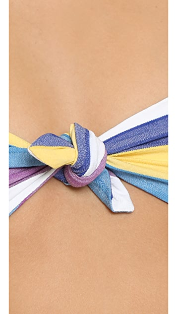 Lisa Marie Fernandez Poppy Stripe Bikini