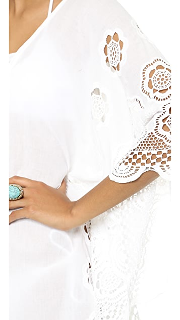 LIV Zooey Lace Up Caftan