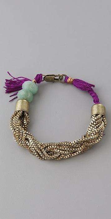 Lizzie Fortunato Small Fortune Braid Bracelet