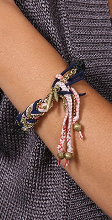 Lizzie Fortunato Small Fortune Braid Bracelet