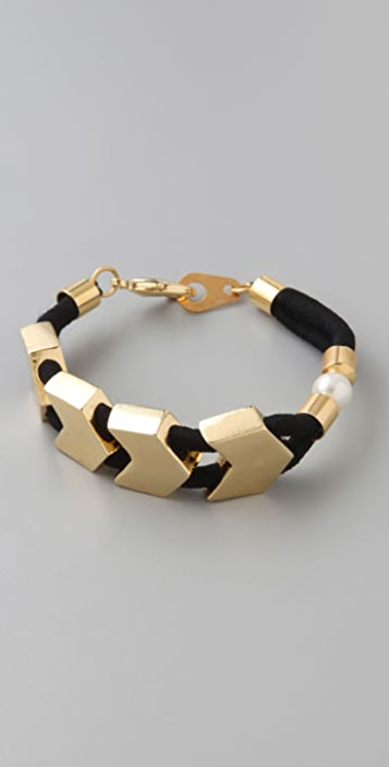 Lizzie Fortunato Small Fortune Vagabond Bracelet