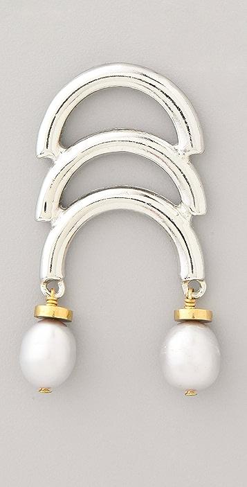 Lizzie Fortunato Organic Architecture Earrings
