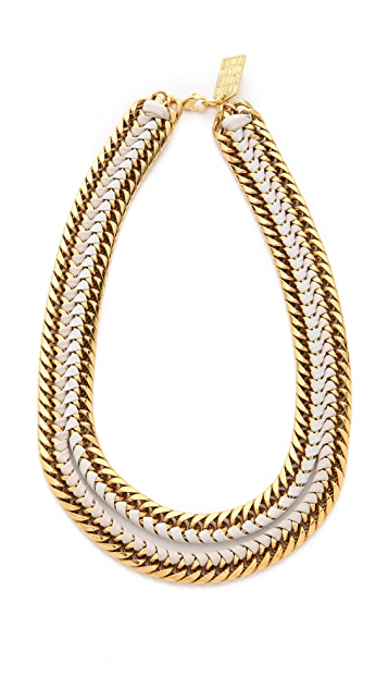 Lizzie Fortunato Unzipped Necklace