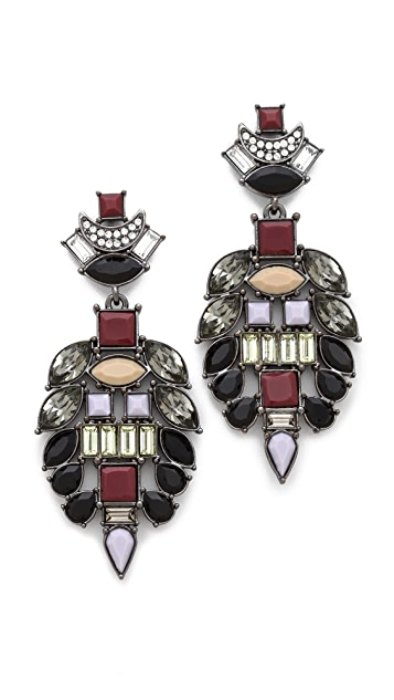 Lizzie Fortunato The Majestic I Earrings