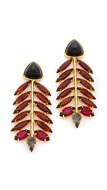 Lizzie Fortunato Modern Warrior Earrings