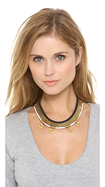 Lizzie Fortunato Sunset Necklace