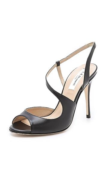 L.K. Bennett Palma Asymmetrical Sandals