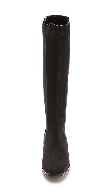 L.K. Bennett Toni Elastic Insert Tall Boots