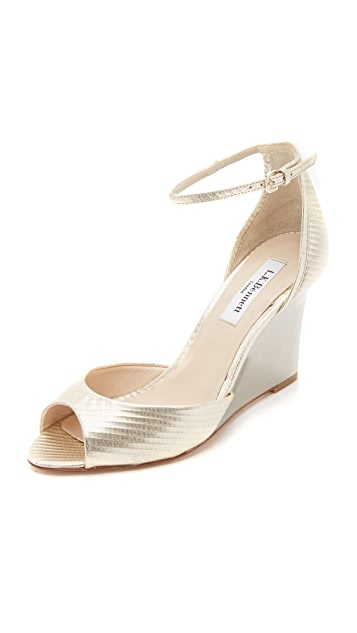 40e284ad3fa L.K. Bennett Coco Wedge Sandals