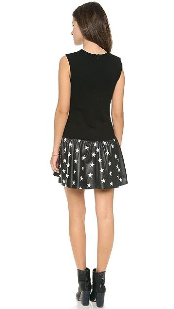 Love Leather Stars Courtside Mini Dress
