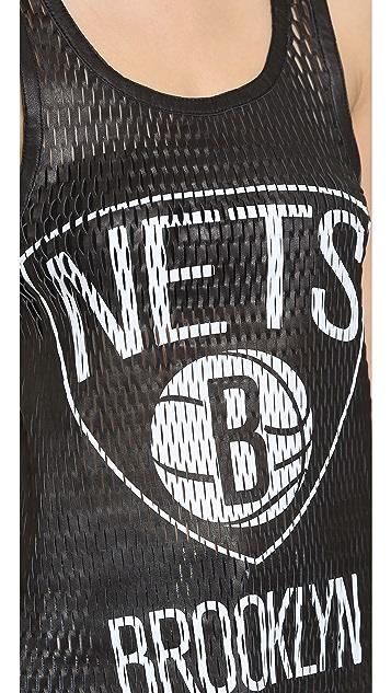 Love Leather Nets Slam Dunk Tank