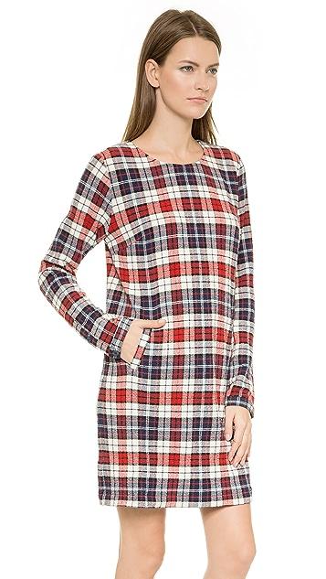 Lbt-Lbt Long Sleeved Shift Dress