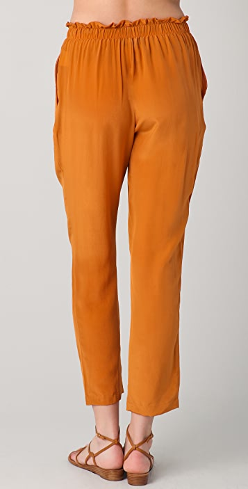 Le Mont St. Michel Cropped Trousers