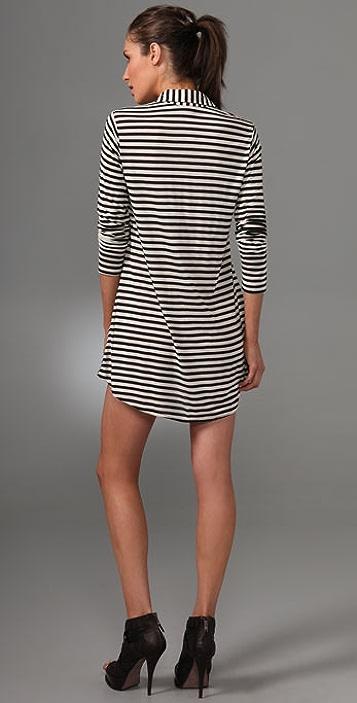 LNA Collar Shirtdress