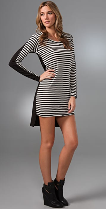 LNA Two Faced Dress