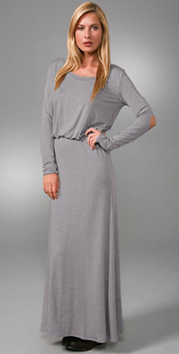LNA Open Elbow Long Dress