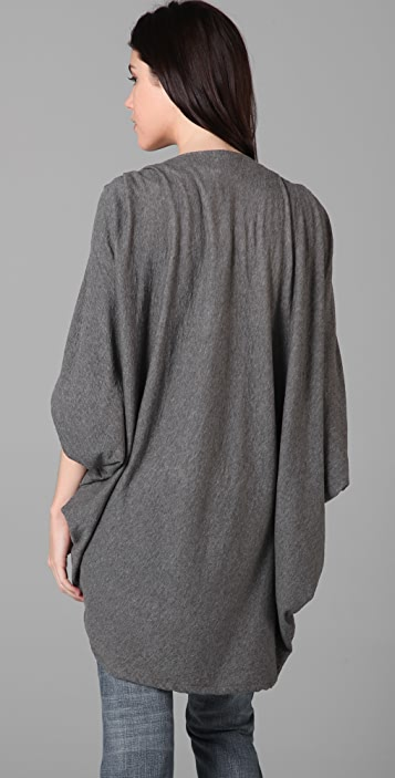 LNA Bat Cape Cardigan