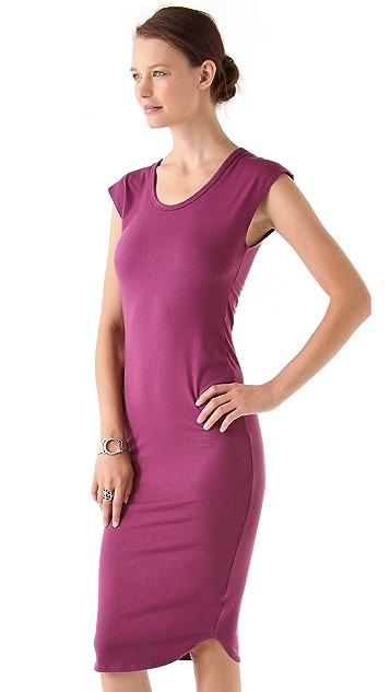 LNA Hyde Column Dress