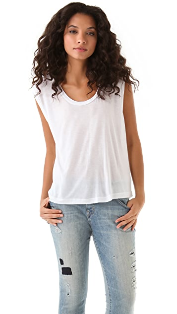 LNA Ashes Sleeveless Top