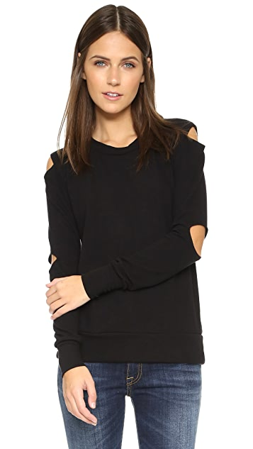 LNA Cutout Sweater