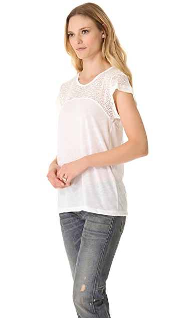 LNA Alpine Knit Tee
