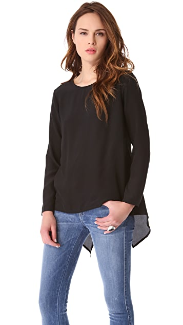 LNA Shadow Blouse
