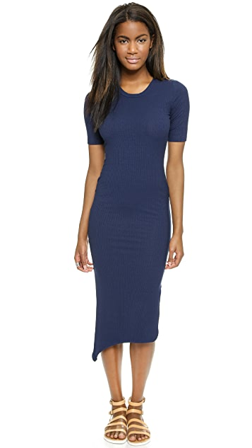 LNA Ribbed Nola Dress