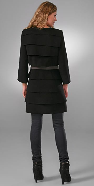 Loeffler Randall Layered Coat