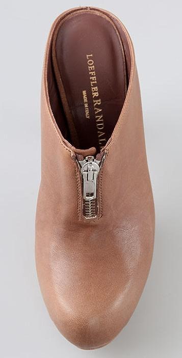 Loeffler Randall Pernille Zipper Clogs