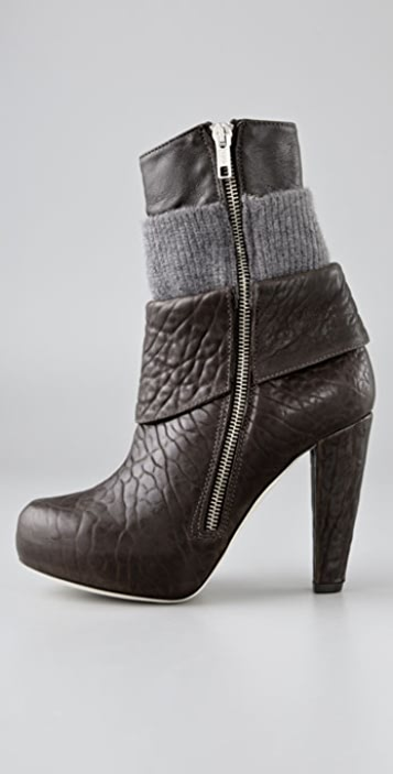 Loeffler Randall Lucy Layered Booties
