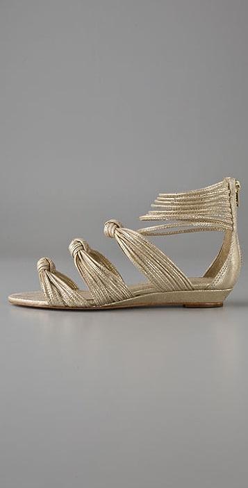 Loeffler Randall Enid Mignon Knotted Sandals