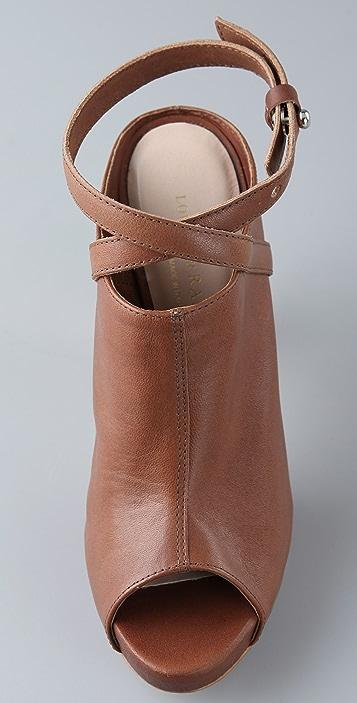 Loeffler Randall Ginevra Platform Slide Sandals