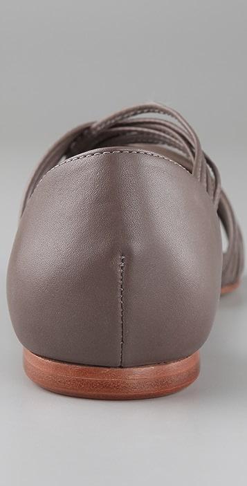 Loeffler Randall Lila Strappy Flat Sandals
