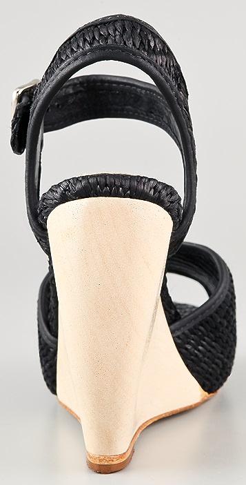 Loeffler Randall Valentine Wedge Sandals