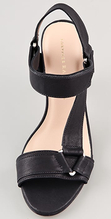 Loeffler Randall Reba Mid Heel Sandals