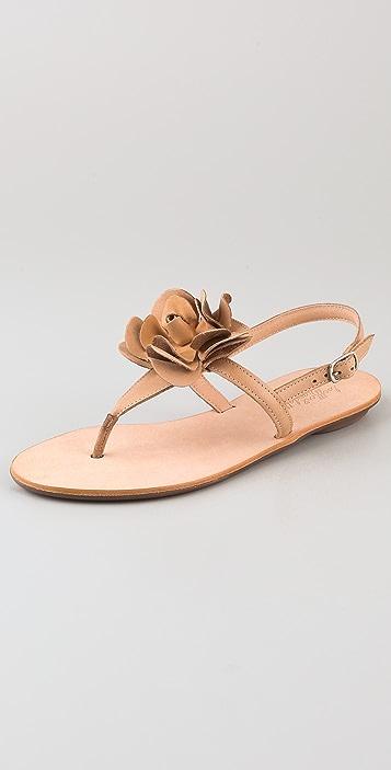 Loeffler Randall Heart LR Serafina Flower Sandals