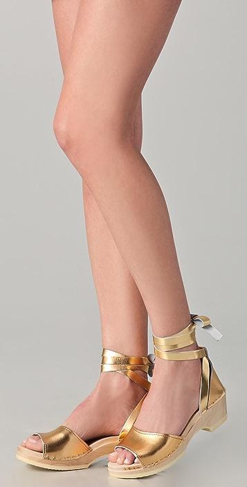 Loeffler Randall Inge Clog Sandals