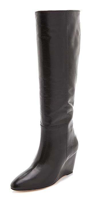 Loeffler Randall Sophie Wedge Boots
