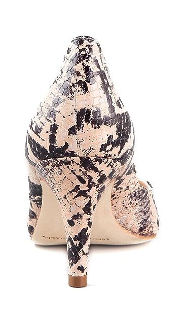 Loeffler Randall Tamsin Snake Embossed Pumps