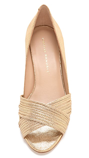 Loeffler Randall Annabel Metallic Sandals