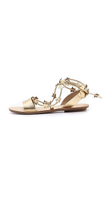 Loeffler Randall Starla Star Plank Sandals