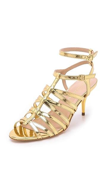 Loeffler Randall Roxy Metallic Kitten Heels