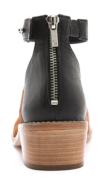 Loeffler Randall Franca Dot Haircalf Booties