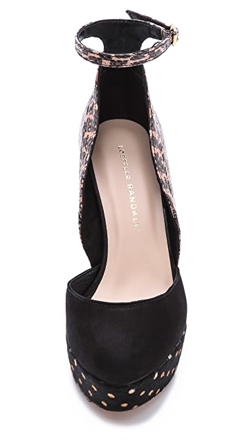 Loeffler Randall Lana d'Orsay Haircalf Wedges