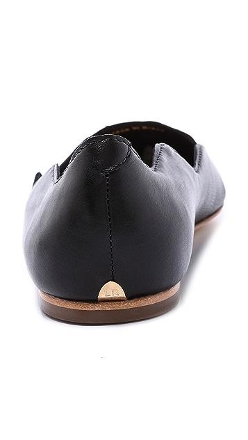 Loeffler Randall Milla Scalloped Ballet Flats