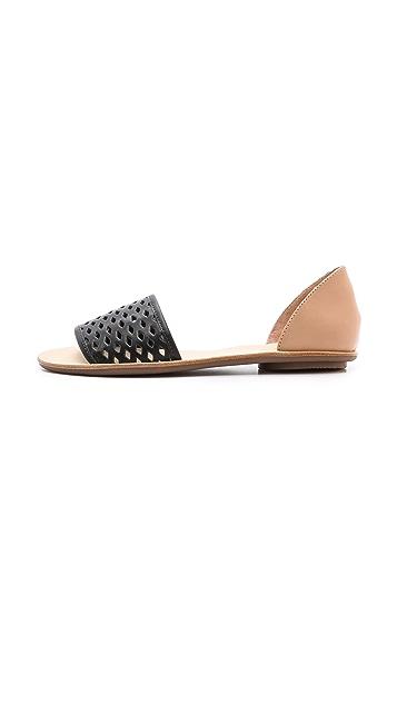 Loeffler Randall Sawyer Flat Sandals